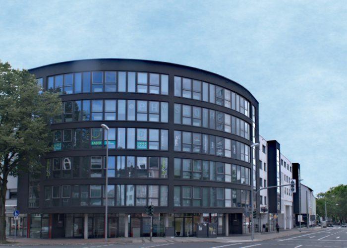Außenansicht Praxisgebäude Steinring 8